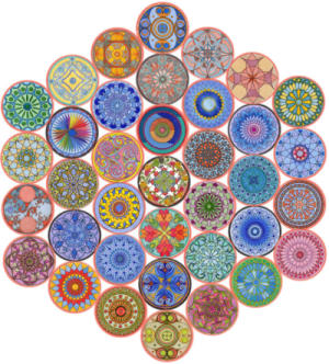 Mandala Collage